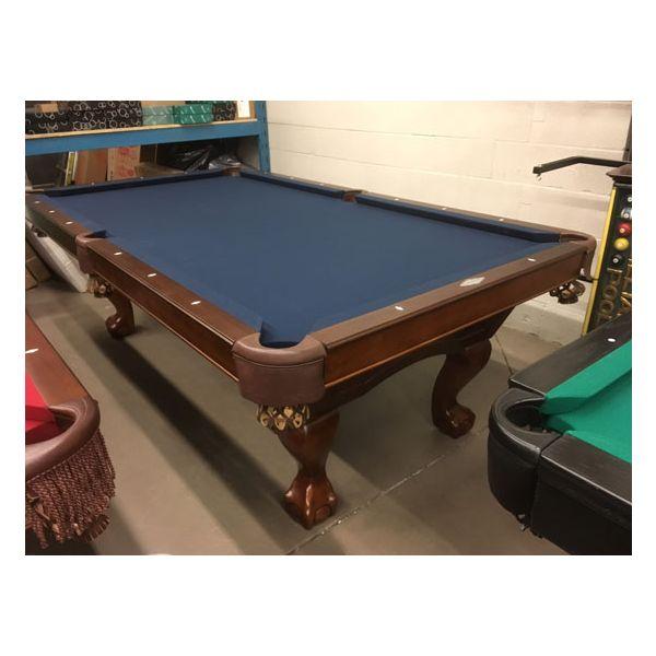 Brunswick Billiards brand Ashton 4 x 8 pool table exclusive floor model demonstrator on special promotion - 1