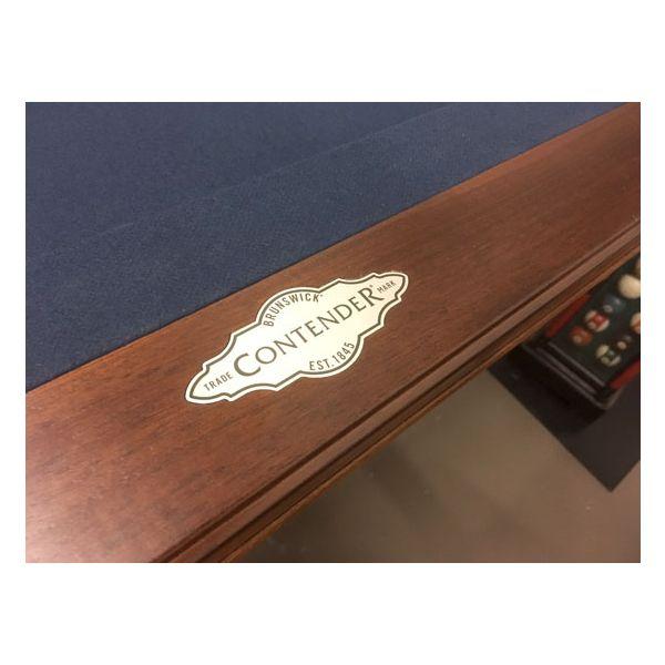 Brunswick Billiards brand Ashton 4 x 8 pool table exclusive floor model demonstrator on special promotion - 8