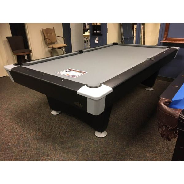 Brunswick Billiards Black Wolf model 8 x 4 foot pool table model with real slate - Picture 1