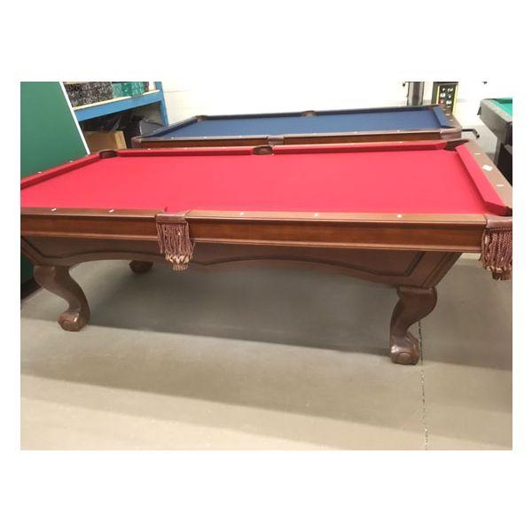 Brunswick Broadmoor 4 x 8 new pool table showroom floor model - 3