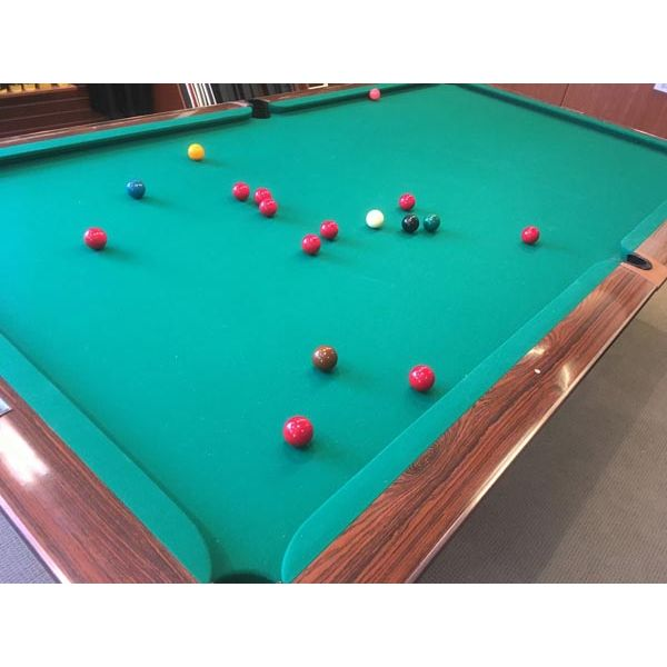 Used snooker table rare 10 x 5 Gold Crown model made by Brunswick - img 1