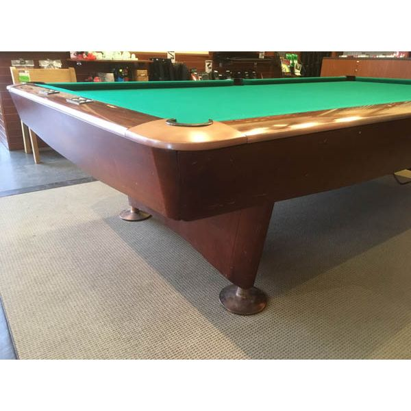 Used snooker table rare 10 x 5 Gold Crown model made by Brunswick - img 2