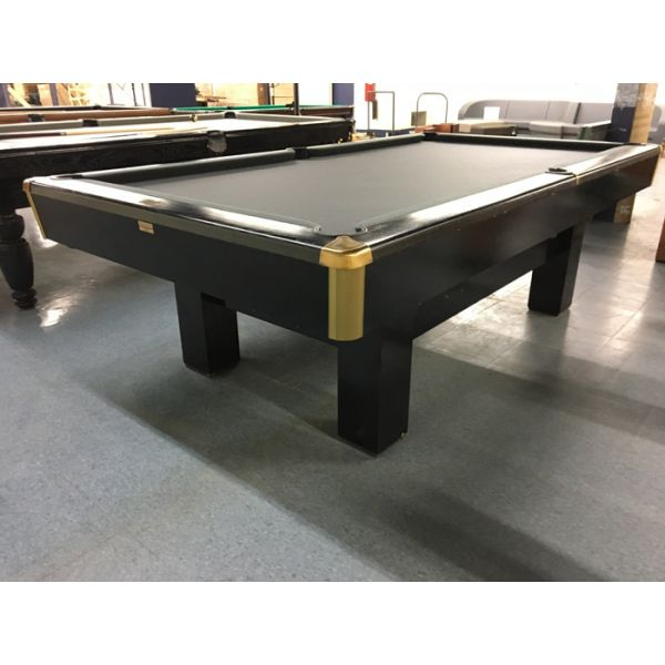 Smaller format 4 x 8 used snooker table by Canada Billiards - Pic1