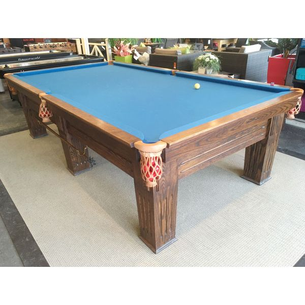 Used antique rare Canadian Made Commonwealth brand 10 foot snooker table