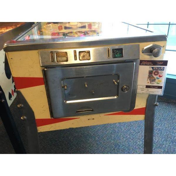 Gottlieb Fun Land 1968 antique retro vintage pinball flipper machine - img 5