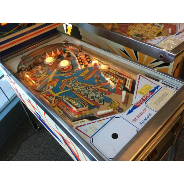 Gottlieb Super Spin pinball machine 1977 classic rare antique in very good condition - image 3