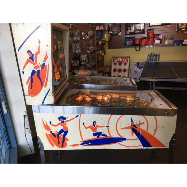 Gottlieb Super Spin pinball machine 1977 classic rare antique in very good condition - image 4