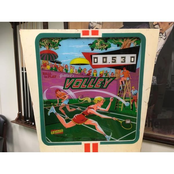 Very rare antique pinball retro EM electro-mecanical flipper arcade game Gottlieb Volley from 1976 - images 3