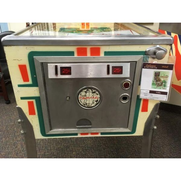 Very rare antique pinball retro EM electro-mecanical flipper arcade game Gottlieb Volley from 1976 - images 9
