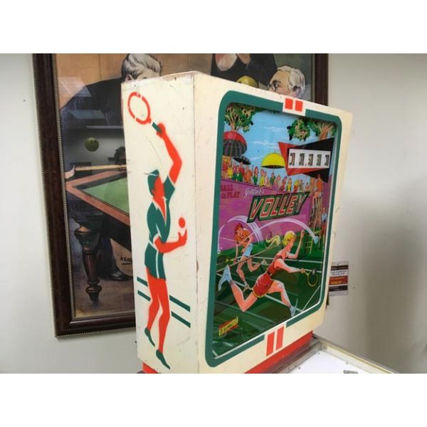Very rare antique pinball retro EM electro-mecanical flipper arcade game Gottlieb Volley from 1976 - images 7