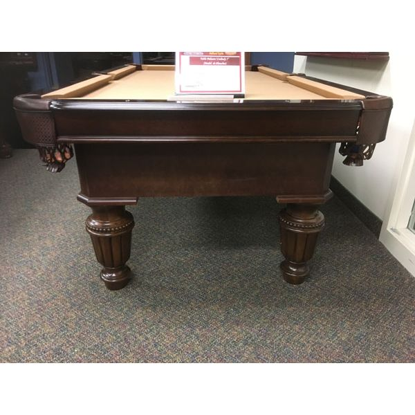 Majestic Billiards 7 x 3-1/2 foot Floor Model Demonstrator Uni-Body pool table with real slate, genuine leather pockets and 25 year warranty - Image 2
