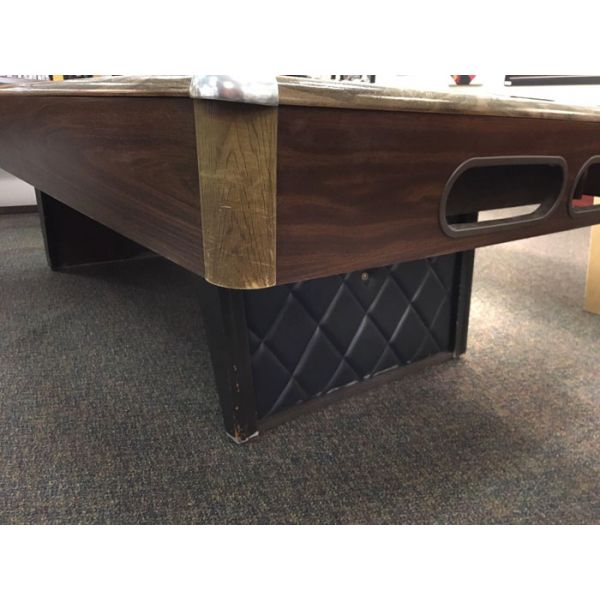 Used Minnesota Fats 4 x 8 pool table with real slate and Arborite finish top rails - Pic2