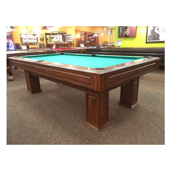 Special Promotion floor model Legacy Landon II 8 x 4 pool table at our Montreal store location - 1