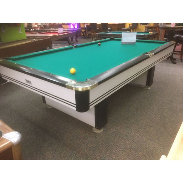 Table de billard moderne grise