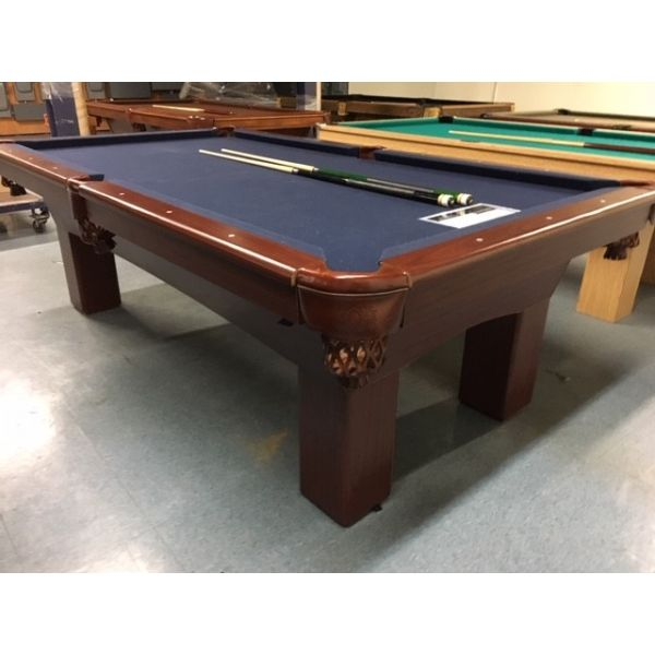 Palason Pioneer 4 x 8 used pool table with real One Inch thick slate