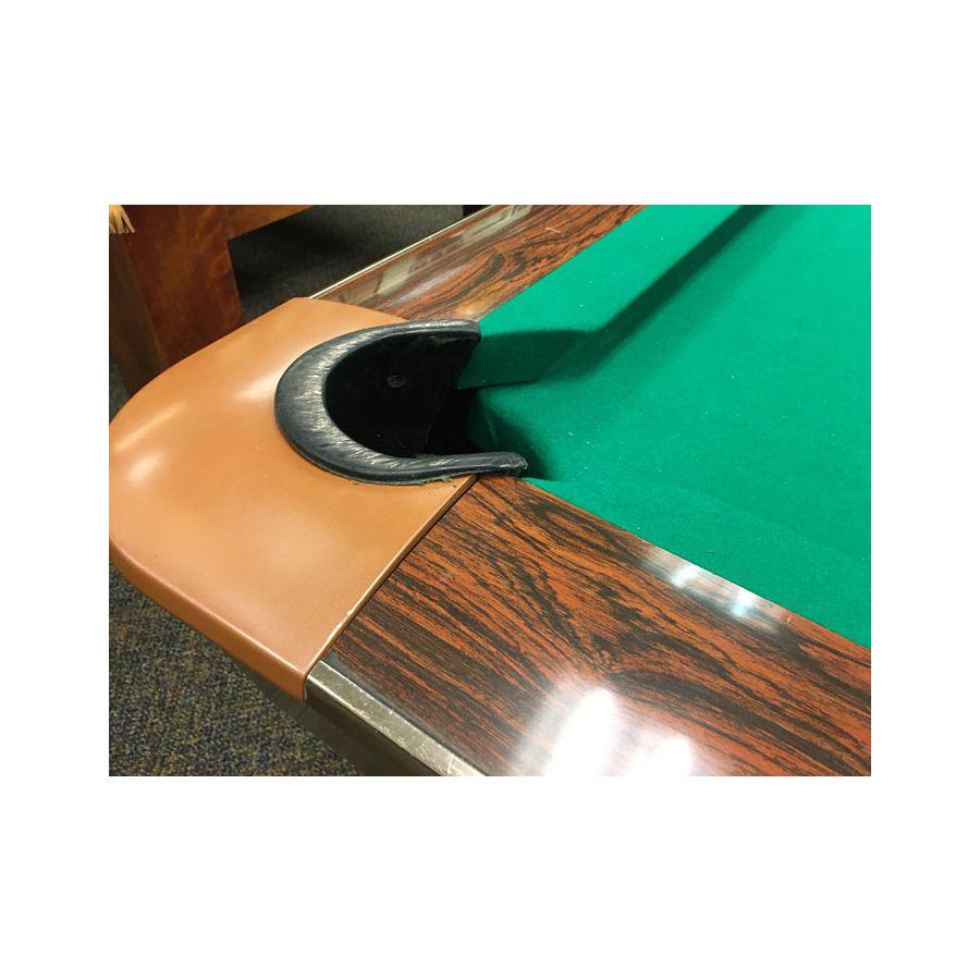 La Chaise Longue Billard brunswick gold crown 9 foot used classic vintage antique slate pool table