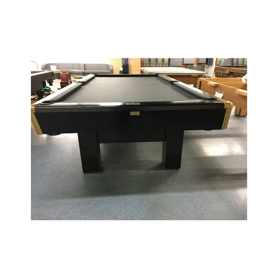 Smaller format 7 x 7 used snooker table by Canada Billiards